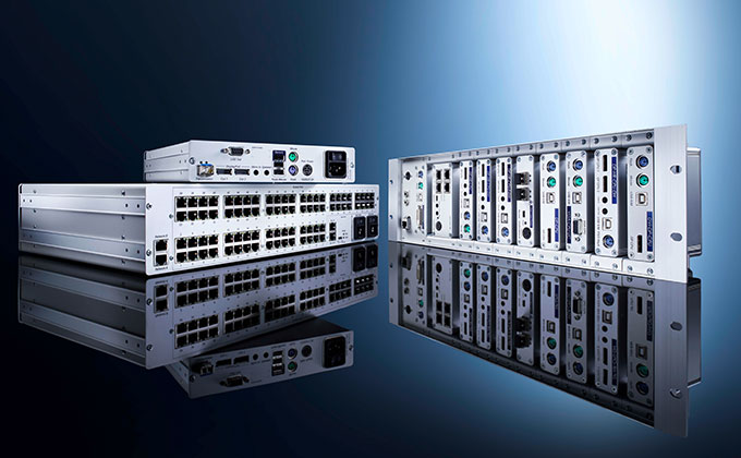Powerful KVM matrix systems tailored to your needs